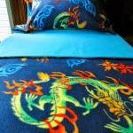 Toddler Fleece Blanket Set 'Chinese..