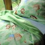 Crib / Toddler Fleece Bedding Set '..