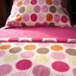 Pink Fleece Bed Set : Toddler / Cri..