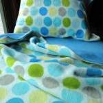Boys Toddler Bedding Fleece Snowbal..