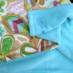 Fleece Toddler / Baby Blanket 'Butt..