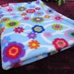 Toddler / Baby Blanket 'Purple Peac..