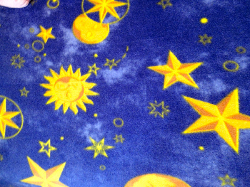 Fleece Fitted Sheets 'Galaxy Dreams' for Boys & Girls Fits Cribs and Toddler Beds